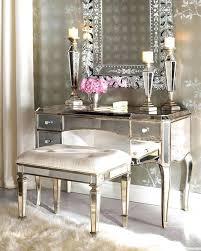 makeup vanity chair mirrored vanity desk vanity seat makeup vanity chair with back
