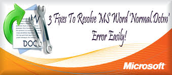 normal dotm 3 fixes to resolve ms word normal dotm error easily file repair