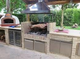 Elegant Outdoor Küche Mauern
