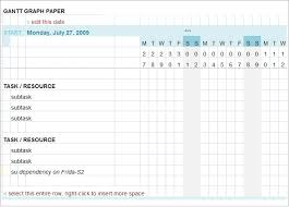 Gantt Chart Template 5 Free Excel Pdf Documents Download