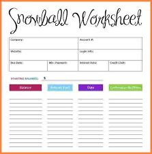 Debt Spreadsheet Template Free Spreadsheet Debt Snowball