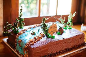 Fishing Themed Grooms Cake