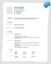 Clean One Page Resume Template | Creative Resume Templates ...