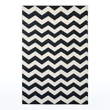 interior chevron zig zag black and white area rug adc rugs regarding black and white