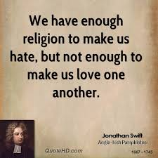 Religion Quotes Gorgeous Jonathan Swift Religion Quotes QuoteHD