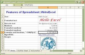 Excel Examples Xls Spreadsheet Writeexcel Examples Spreadsheet Writeexcel Example
