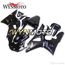 complete fairings for yamaha yzf r1 2000 2001 injection abs