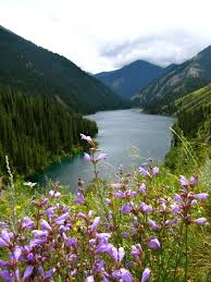 lake baikal is a freshwater lake that has beautiful scenery and