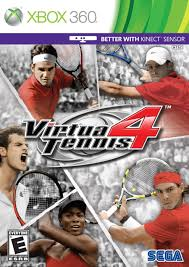 Virtua Tennis 4 RGH Español 2.5gb Xbox 360 [Mega+]
