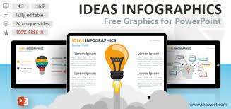 Infographics For Powerpoint Shapes Objects Free Templates
