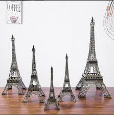 eiffel tower size large size 48cm height eiffel tower metallic model crafts vintage