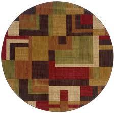 round rugs octagon rugs allure oriental designer rugs
