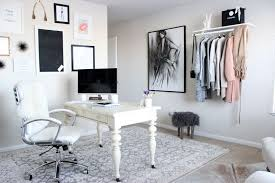 Office Design Interior Ideas Classy StylecuspHomeOfficeRevealHavenlyChicOfficeSpaceNeutral