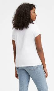 <b>Levi's</b>® Logo <b>Perfect Tee</b> Shirt - White | <b>Levi's</b>® US