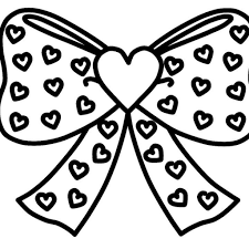 Jojo Siwa Heart Coloring Pages With Bow Coloring Page And Top Jojo