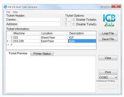 Rev Generator Installation Asset A Operation Software Jcm Icb® Ticket Guide amp;