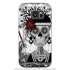 samsung galaxy s6 phone cases for girls. flapper girl sugar skull galaxy s7 edge tough case - mrs gloria vanderbone black and samsung s6 phone cases for girls f