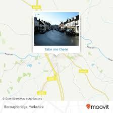 boroughbridge by bus or train