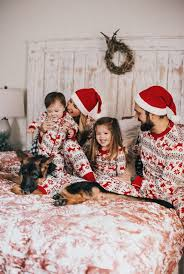 Matching Family Christmas Pajamas // Looking for matching family pajamas the holiday season this Holiday Season - Lynzy \u0026 Co.