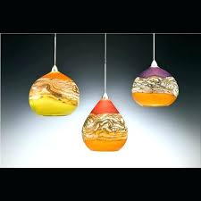 hand blown glass pendant lights awesome hand blown glass mini pendant lights for blown glass lighting