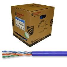 superior essex series cat cable com close up of superior essex series 77 cat6 cable strands separated and 1000 foot box