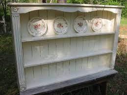 cottage wall shelf display shelf