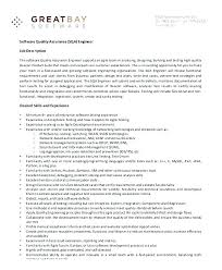 Field Assurance Coordinator Resume Quality Assurance Resume Sample ...