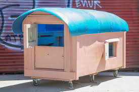 Small Picture Artist Converts Trash Into Compact Mobile Homes For The Homeless