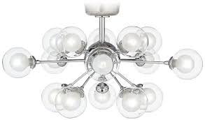 possini euro lighting. Perfect Possini Euro Design Glass Balls Light Led Fan Kit With Design. Lighting