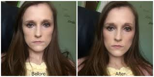 blush before and after. before and after collection gorgeous glow blush block