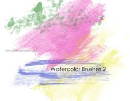 free watercolor brushes illustrator watercolor brushes illustrator 143 photoshop free brushes download