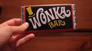 real wonka chocolate bar. Simple Real Willy Wonka Chocolate Golden Ticket To Real Bar D