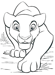 mountain lion coloring pages baby colouring printable page goat pag mountain coloring