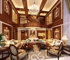 Klassieke Elegante 3d Rendering Voor Amerikaanse Stijl Villa