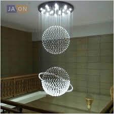led g10 modern stainless steel crystal globe led lamp led light ceiling lights