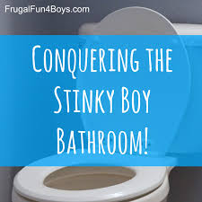 bathroom smells. conquering the stinky boy bathroom - ideas for getting rid of lingering pee smell! smells o