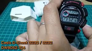 G Shock 3230 Auto Light Casio G Shock 3230 3232 Dw9052