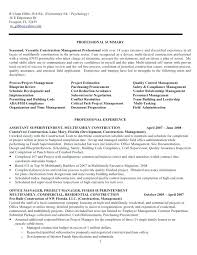 Example Of Construction Resume Custom Construction Management Resumes Manpower Resume Template Free
