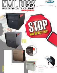Epoch Design Epoch Design Retail Locking Security Mailboxes U S