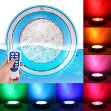 Multi Color Pool Light Us 46 98 30 Off Rgb Underwater Swimming Pool Light Multi Color 12v 24w Rgb Remote Controller Outdoor Lighting Aterproof Underwater Lamp In Led