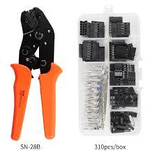 <b>SN 28B 310PCS/620PCS dupont crimping</b> tool kit jst xh crimp pliers ...