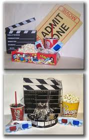 Real cinema themed decor for your personal home theatre
