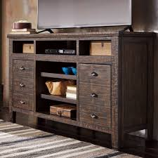 Ashley Furniture Trudell XL TV Stand with Fireplace Audio Option