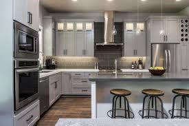 Gray Stained Kitchen Cabinets Cabinet Pale Grey Kitchen Cabinet
