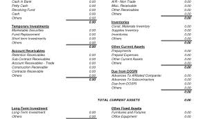 Free Printable Personal Financial Statement Template Free Printable ...