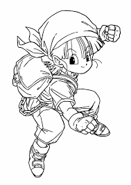 Small Picture Dragon Ball Z Baby Coloring Pages Coloring Pages