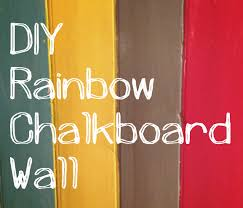 homemade chalkboard paint wall