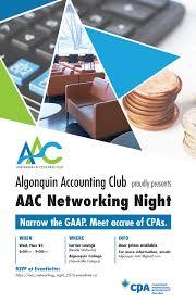 Graphic Design Algonquin Algonquin Accounting Club Logo Design On Behance