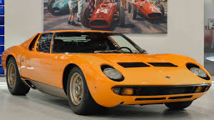 On Days Like These You Need This 1969 Lamborghini Miura P400S