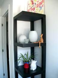 black corner shelves wall shelf small